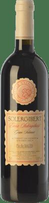 14,95 € Envío gratis | Vino tinto Solergibert Enric Gran Reserva D.O. Pla de Bages Cataluña España Cabernet Sauvignon, Cabernet Franc Botella 75 cl