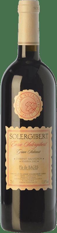 14,95 € Free Shipping | Red wine Solergibert Enric Gran Reserva D.O. Pla de Bages Catalonia Spain Cabernet Sauvignon, Cabernet Franc Bottle 75 cl