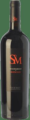 18,95 € Envío gratis | Vino tinto Solergibert Matacans Joven D.O. Pla de Bages Cataluña España Cabernet Sauvignon, Cabernet Franc Botella 75 cl