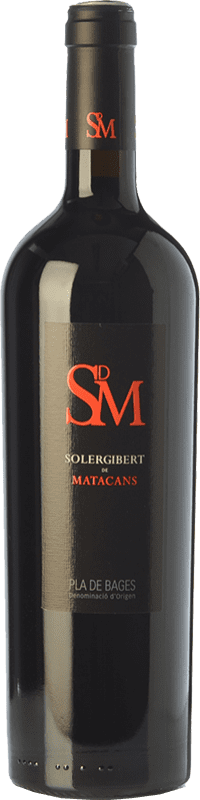 18,95 € Free Shipping | Red wine Solergibert Matacans Joven D.O. Pla de Bages Catalonia Spain Cabernet Sauvignon, Cabernet Franc Bottle 75 cl