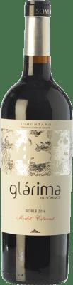 6,95 € Envoi gratuit | Vin rouge Sommos Glárima Roble D.O. Somontano Aragon Espagne Tempranillo, Merlot, Cabernet Sauvignon Bouteille 75 cl