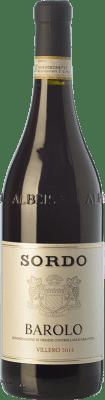 44,95 € Free Shipping | Red wine Sordo Villero D.O.C.G. Barolo Piemonte Italy Nebbiolo Bottle 75 cl