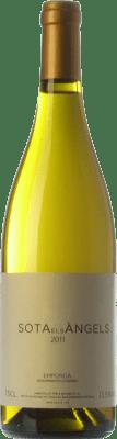 33,95 € Envío gratis | Vino blanco Sota els Àngels Crianza D.O. Empordà Cataluña España Viognier, Picapoll Botella 75 cl