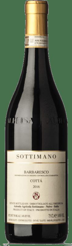 81,95 € Free Shipping | Red wine Sottimano Cottà D.O.C.G. Barbaresco Piemonte Italy Nebbiolo Bottle 75 cl