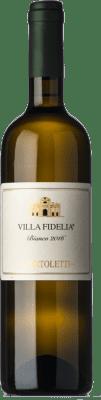 16,95 € Free Shipping | White wine Sportoletti Villa Fidelia Bianco I.G.T. Umbria Umbria Italy Chardonnay, Grechetto Bottle 75 cl