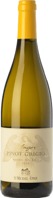 13,95 € Kostenloser Versand | Weißwein St. Michael-Eppan Pinot Grigio Anger D.O.C. Alto Adige Trentino-Südtirol Italien Pinot Grau Flasche 75 cl