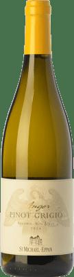 15,95 € Free Shipping | White wine St. Michael-Eppan Pinot Grigio Anger D.O.C. Alto Adige Trentino-Alto Adige Italy Pinot Grey Bottle 75 cl