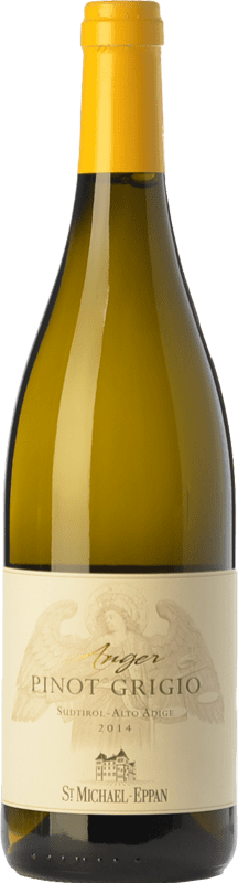 13,95 € Envío gratis | Vino blanco St. Michael-Eppan Pinot Grigio Anger D.O.C. Alto Adige Trentino-Alto Adige Italia Pinot Gris Botella 75 cl