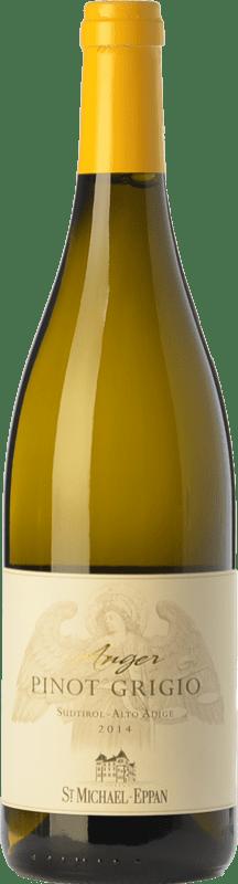 13,95 € Free Shipping   White wine St. Michael-Eppan Pinot Grigio Anger D.O.C. Alto Adige Trentino-Alto Adige Italy Pinot Grey Bottle 75 cl