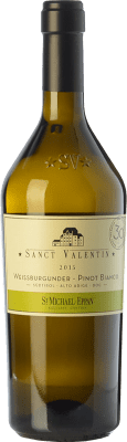 27,95 € Envío gratis | Vino blanco St. Michael-Eppan Sanct Valentin Pinot Bianco D.O.C. Alto Adige Trentino-Alto Adige Italia Pinot Blanco Botella 75 cl