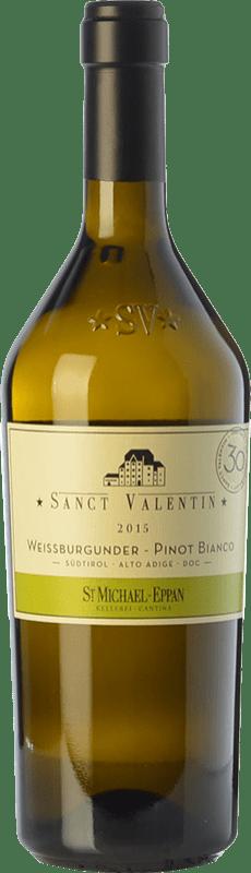 27,95 € Free Shipping   White wine St. Michael-Eppan Sanct Valentin Pinot Bianco D.O.C. Alto Adige Trentino-Alto Adige Italy Pinot White Bottle 75 cl