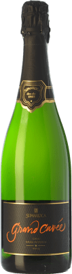 19,95 € Free Shipping | White sparkling Sumarroca Grand Cuvée Brut Nature D.O. Cava Catalonia Spain Chardonnay, Parellada Bottle 75 cl