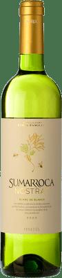 6,95 € Kostenloser Versand | Weißwein Sumarroca Blanc de Blancs Joven D.O. Penedès Katalonien Spanien Macabeo, Xarel·lo, Parellada Flasche 75 cl