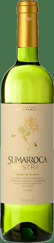 6,95 € Envío gratis   Vino blanco Sumarroca Blanc de Blancs Joven D.O. Penedès Cataluña España Macabeo, Xarel·lo, Parellada Botella 75 cl