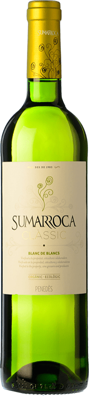 6,95 € Free Shipping | White wine Sumarroca Blanc de Blancs Joven D.O. Penedès Catalonia Spain Macabeo, Xarel·lo, Parellada Bottle 75 cl