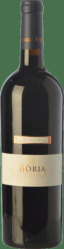 26,95 € Envoi gratuit | Vin rouge Sumarroca Bòria Crianza D.O. Penedès Catalogne Espagne Merlot, Syrah, Cabernet Sauvignon Bouteille 75 cl