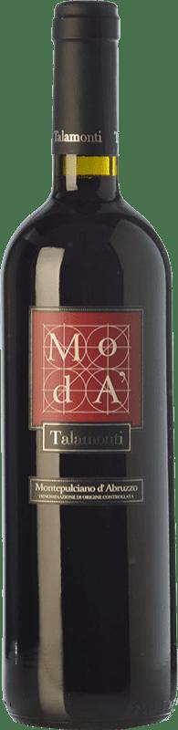 8,95 € Free Shipping | Red wine Talamonti Moda D.O.C. Montepulciano d'Abruzzo Abruzzo Italy Montepulciano Bottle 75 cl