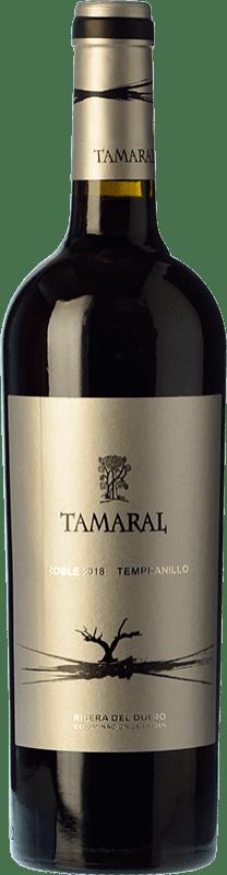 9,95 € Free Shipping | Red wine Tamaral Roble D.O. Ribera del Duero Castilla y León Spain Tempranillo Bottle 75 cl