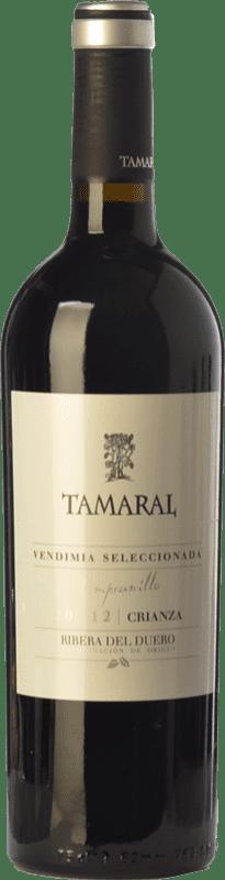 18,95 € Envoi gratuit | Vin rouge Tamaral Vendimia Seleccionada Crianza D.O. Ribera del Duero Castille et Leon Espagne Tempranillo Bouteille 75 cl