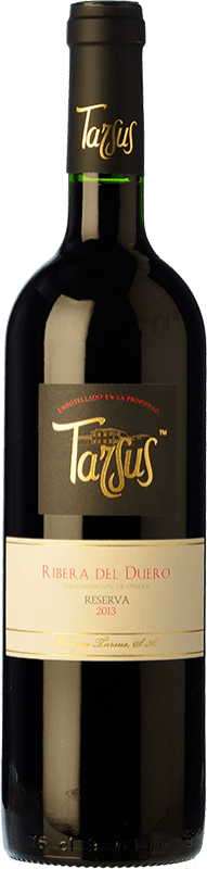 24,95 € Envío gratis | Vino tinto Tarsus Reserva D.O. Ribera del Duero Castilla y León España Tempranillo, Cabernet Sauvignon Botella 75 cl
