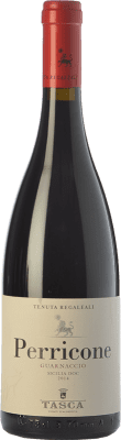 12,95 € Free Shipping | Red wine Tasca d'Almerita Guarnaccio I.G.T. Terre Siciliane Sicily Italy Perricone Bottle 75 cl