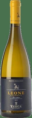 15,95 € Free Shipping | White wine Tasca d'Almerita Leone I.G.T. Terre Siciliane Sicily Italy Gewürztraminer, Pinot White, Sauvignon, Catarratto Bottle 75 cl