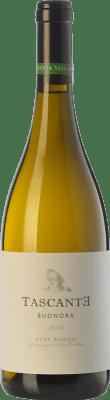19,95 € Free Shipping | White wine Tasca d'Almerita Tascante Buonora I.G.T. Terre Siciliane Sicily Italy Carricante Bottle 75 cl