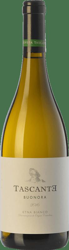 17,95 € Free Shipping | White wine Tasca d'Almerita Tascante Buonora I.G.T. Terre Siciliane Sicily Italy Carricante Bottle 75 cl