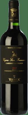 48,95 € Free Shipping | Red wine Tasca d'Almerita I.G.T. Terre Siciliane Sicily Italy Cabernet Sauvignon Bottle 75 cl