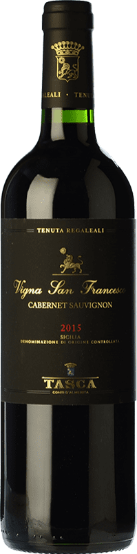 42,95 € Free Shipping | Red wine Tasca d'Almerita I.G.T. Terre Siciliane Sicily Italy Cabernet Sauvignon Bottle 75 cl