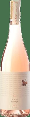 9,95 € Free Shipping | Rosé wine Tayaimgut Fresc Rosat D.O. Penedès Catalonia Spain Merlot Bottle 75 cl