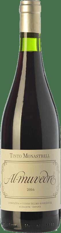 6,95 € Envío gratis   Vino tinto Telmo Rodríguez Al Muvedre Joven D.O. Alicante Comunidad Valenciana España Monastrell Botella 75 cl