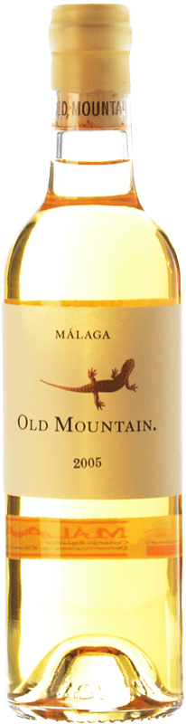 121,95 € Free Shipping | White wine Telmo Rodríguez Old Mountain Crianza 2005 D.O. Sierras de Málaga Andalusia Spain Muscat of Alexandria Bottle 75 cl