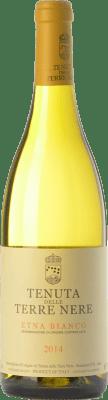 28,95 € Free Shipping | White wine Tenuta Nere Bianco D.O.C. Etna Sicily Italy Carricante, Insolia, Grecanico Dorato, Catarratto, Minella Bottle 75 cl