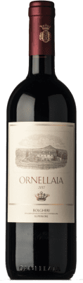 233,95 € Free Shipping | Red wine Ornellaia D.O.C. Bolgheri Tuscany Italy Merlot, Cabernet Sauvignon, Cabernet Franc, Petit Verdot Bottle 75 cl