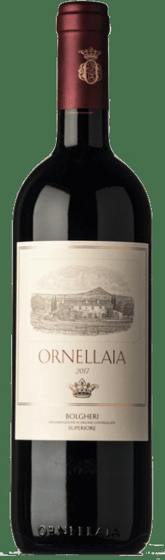 227,95 € Envío gratis | Vino tinto Ornellaia D.O.C. Bolgheri Toscana Italia Merlot, Cabernet Sauvignon, Cabernet Franc, Petit Verdot Botella 75 cl