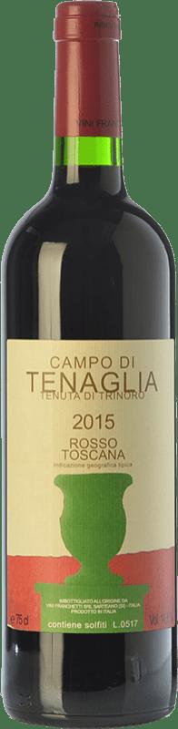 74,95 € Free Shipping | Red wine Tenuta di Trinoro Campo di Tenaglia I.G.T. Toscana Tuscany Italy Cabernet Franc Bottle 75 cl