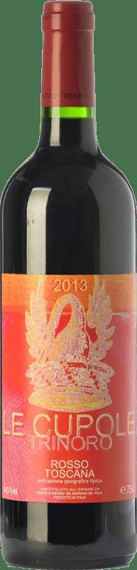 23,95 € Free Shipping | Red wine Tenuta di Trinoro Le Cupole I.G.T. Toscana Tuscany Italy Merlot, Cabernet Sauvignon, Cabernet Franc, Petit Verdot Bottle 75 cl