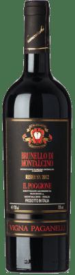 71,95 € Kostenloser Versand | Rotwein Il Poggione Riserva Vigna Paganelli Reserva 2010 D.O.C.G. Brunello di Montalcino Toskana Italien Sangiovese Flasche 75 cl