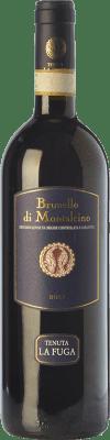 39,95 € Envío gratis | Vino tinto Tenuta La Fuga D.O.C.G. Brunello di Montalcino Toscana Italia Sangiovese Botella 75 cl