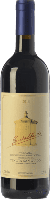 34,95 € Free Shipping | Red wine San Guido Guidalberto I.G.T. Toscana Tuscany Italy Merlot, Cabernet Sauvignon Bottle 75 cl