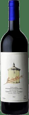 34,95 € Kostenloser Versand | Rotwein San Guido Guidalberto I.G.T. Toscana Toskana Italien Merlot, Cabernet Sauvignon Flasche 75 cl