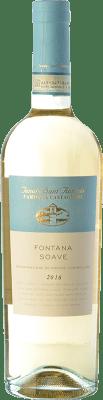 15,95 € Free Shipping | White wine Tenuta Sant'Antonio Fontana D.O.C. Soave Veneto Italy Garganega, Trebbiano di Soave Bottle 75 cl