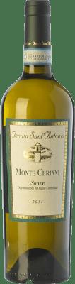 12,95 € Envío gratis | Vino blanco Tenuta Sant'Antonio Monte Ceriani D.O.C. Soave Veneto Italia Garganega Botella 75 cl