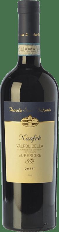 9,95 € Envoi gratuit | Vin rouge Tenuta Sant'Antonio Superiore Nanfrè D.O.C. Valpolicella Vénétie Italie Corvina, Rondinella Bouteille 75 cl