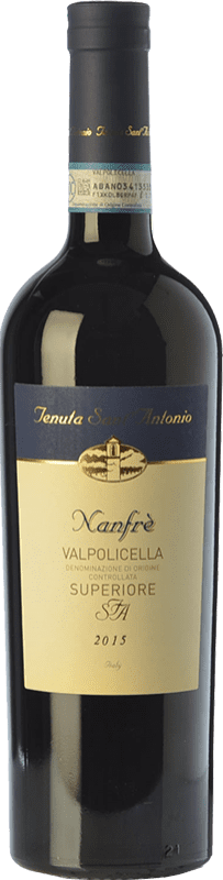 9,95 € Envío gratis | Vino tinto Tenuta Sant'Antonio Superiore Nanfrè D.O.C. Valpolicella Veneto Italia Corvina, Rondinella Botella 75 cl