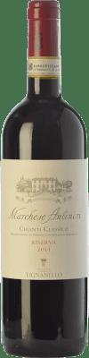 31,95 € Free Shipping | Red wine Tignanello Marchesi Antinori Riserva Reserva D.O.C.G. Chianti Classico Tuscany Italy Cabernet Sauvignon, Sangiovese Bottle 75 cl