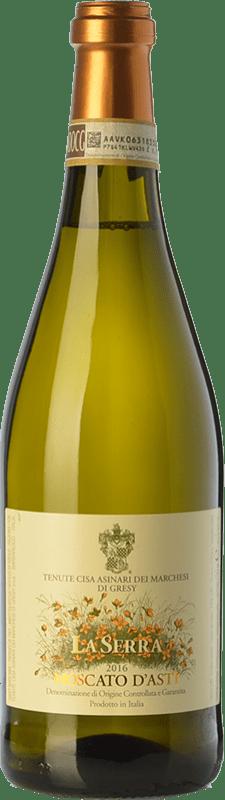 12,95 € Free Shipping   Sweet wine Cisa Asinari Marchesi di Grésy La Serra D.O.C.G. Moscato d'Asti Piemonte Italy Muscatel White Bottle 75 cl