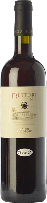 51,95 € Envío gratis | Vino tinto Dettori Rosso I.G.T. Romangia Sardegna Italia Cannonau Botella 75 cl