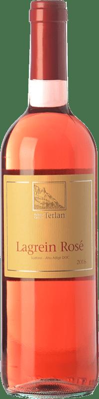 9,95 € Free Shipping | Rosé wine Terlano Rosé D.O.C. Alto Adige Trentino-Alto Adige Italy Lagrein Bottle 75 cl